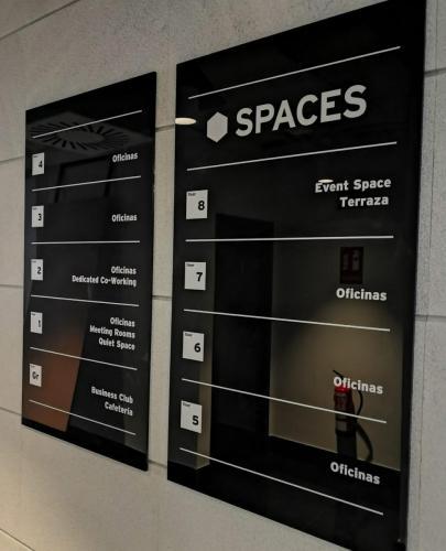 Spaces directorio