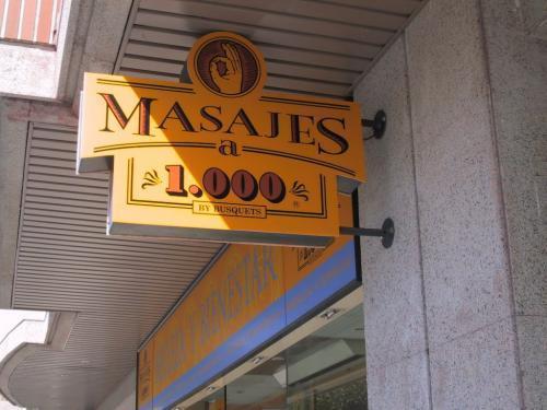 MASAJES A 1000