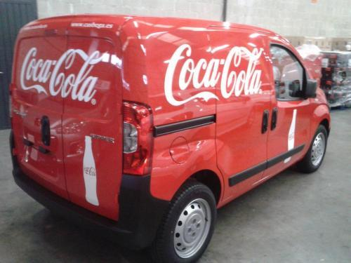 coca cola furgoneta